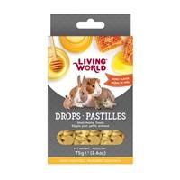 Régals Living World pour petits animaux, pastilles, arôme de miel, 75 g (2,6 oz)