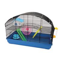 Cage Living World pour hamsters nains, Villa, L. 58 x l. 32 x H. 41 cm (22,8 x 12,5 x 16,1 po)