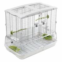 Cage Vision pour oiseaux de taille moyenne, modèle M01, standard, grillage étroit, 62,5 x 39,5 x 53 cm (24,6 x 15,6 x 21 po)