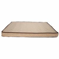 Lit orthopédique à fibres entrelacées Dreamwell Dogit, beige, 97 x 74 x 8 cm (38 x 29 x 3po)