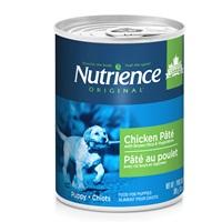Pâté Nutrience Original pour chiots, Poulet avec riz brun et légumes, 369g (13oz)