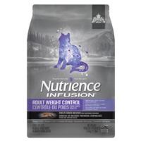 Aliment Nutrience Infusion pour chats adultes, Contrôle du poids, Poulet, 1,13 kg (2,5 lb)
