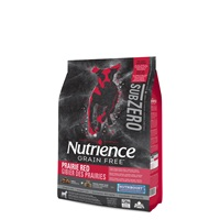 Aliment Nutrience SubZero Sans grains pour chiens, Gibier des Prairies, 5 kg (11 lb)