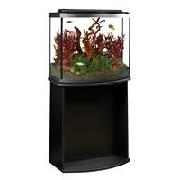 Aquarium équipé haut de gamme 26 Fluval à devant arrondi avec éclairage à DEL, 98 L (26 gal US)