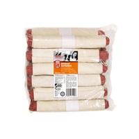 Saucisses Deli-Munchy Dogit enrobées de peau de bœuf, 18cm (7po), 90-100g (3,2-3,5oz), paquet de 12