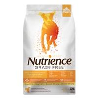 Aliment Nutrience Sans grains pour chiens, Dinde, poulet et hareng, 10 kg (22 lbs)