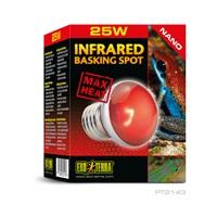 Ampoule à infrarouge Nano Exo Terra pour lézarder, 25 W