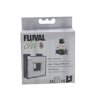 Bloc de mousse et plaquettes de filtration Chi Fluval