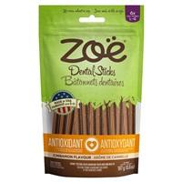Bâtonnets dentaires antioxydants Zoë, Cannelle, grands, 187 g (6,6 oz)