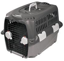 Cage de transport Cargo Dogit Design, grise, petite, L.68x l. 49 x H. 48 cm (27 x 19,5 x 19 po)