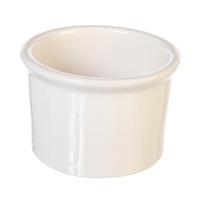 Auget en porcelaine, blanc, grand