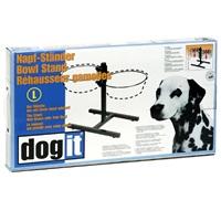 Support réglable Dogit pour bols, grand, convient à 2 bols de 2L (67,2ozliq.)