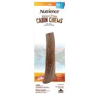Ramure de wapiti à mâcher Cabin Chews Nutrience, géante, arôme de bacon, 19 cm (7,5 po)