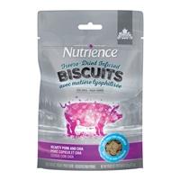 Biscuits séchés à froid Nutrience Infusion, Porc copieux et chia, 135 g (4,7 oz)