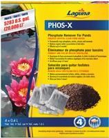 Éliminateur de phosphate Phos-X Laguna, formule concentrée, traite jusqu'à 20000L (5283galUS)