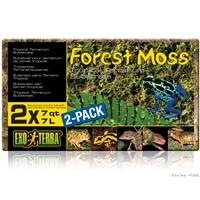 Mousse de forêt Exo Terra, 2 x 7L (2 x 7pte)