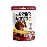 Os Better Bones Zeus, arôme de poulet barbecue, mini, paquet de 24