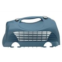 Porte supérieure gauche avec deux attaches pour cage de transport Cabrio Catit, bleu gris