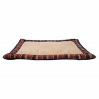 Coussin DreamWell Dogit pour dormir, tartan rouge, 80 x 60 x 4 cm (31 x 23,5 x 1,5po)