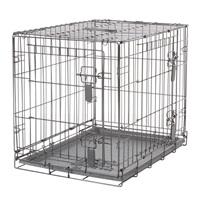 Cage grillagée Dogit à 2 portes avec grille de séparation, petite, 61 x 45 x 51 cm (24 x 17,5 x 20 po)