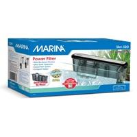 Filtre à moteur Slim Marina S20, pour aquariums jusqu'à 76L (20galUS)