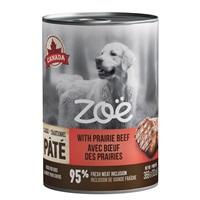 Pâté Zoë avec bœuf des Prairies pour chiens, 369 g (13 oz)