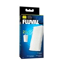 Blocs de mousse filtrante pour filtres Fluval 106 et 107, paquet de 2