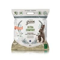 Litière Ultra Comfort Living World Green de qualité supérieure, 20 L