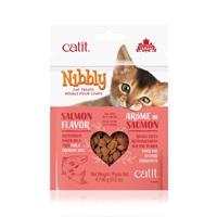 Régals Catit Nibbly pour chats, Saumon, 90g (3,2oz)