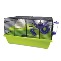 Cage Living World pour hamsters nains, Resort, L. 51 x l. 36,5 x H. 29 cm (20 x 14,3 x 11,4 po)