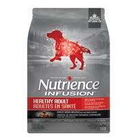Aliment Nutrience Infusion pour chiens adultes en santé, Bœuf, 5 kg (11 lb)