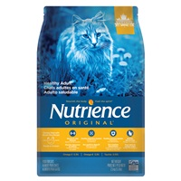 Aliment Nutrience Original, Chats adultes en santé, Poulet avec riz brun, 2,5kg (5,5 lb)