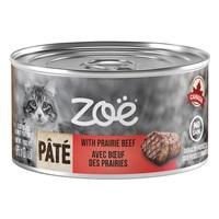 Pâté Zoë avec bœuf des Prairies pour chats, 85 g (3 oz)