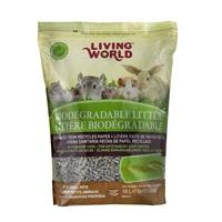 Litière biodégradable Living World pour petits animaux, 10 L (610 po')