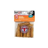 Mini rouleaux Dogit en peau de bœuf d'élevage américain, arôme de poulet, 7,6-8,9 cm (3-3,5 po), paquet de 12
