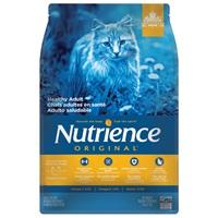 Aliment Nutrience Original, Chats adultes en santé, Poulet avec riz brun, 5kg (11 lb)