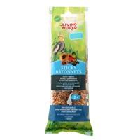 Bâtonnets Living World pour calopsittes, saveur de fruits, 112 g (4oz), paquet de 2