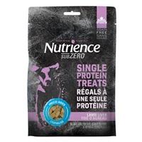 Régals séchés à froid Nutrience Subzero Sans grains à une seule protéine pour chiens, Foie d'agneau, 90 g (3 oz)