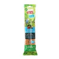 Bâtonnets Living World pour perruches ondulées, saveur de légumes, 60 g (2 oz), paquet de 2