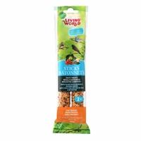 Bâtonnets Living World pour pinsons, saveur de légumes, 60 g (2 oz), paquet de 2