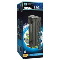 Filtre submersible Fluval U4, pour aquariums contenant de 130 à 240L (de 34 à 65 gal US)