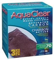 Charbon activé pour AquaClear 70/300, 420 g (14,8oz), paquet de 3