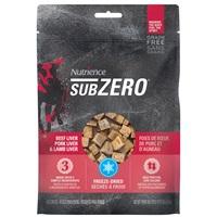 Régals Nutrience SubZero Sans grains, Foies de bœuf, de porc et d'agneau, 90g (3oz)