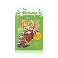 Charquis Catit Nibbly Jerky, Poulet et poisson, 30 g (1 oz)