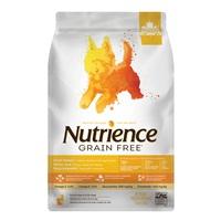 Aliment Nutrience Sans grains pour chiens de petite race, Dinde, poulet et hareng, 2,5 kg (5,5 lbs)