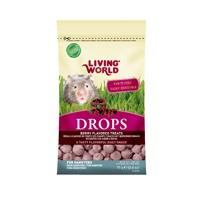 Régals Drops Living World pour hamsters, saveur de fruits des champs, 75g (2,6oz)