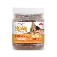 Régals Catit Nibbly pour chats, Poulet, 350 g (12,3 oz) jarre