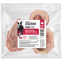 Aliments Nutrience SubZero Cru pour petits chiens, fémurs de bœuf, 360 g (0,8 lb), paquet de 10