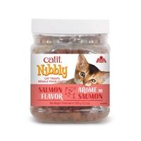 Régals Catit Nibbly pour chats, Saumon, 350 g (12,3 oz) jarre