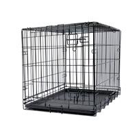 Cage grillagée Dogit à une porte, moyenne, 77 x 48 x 54,5 cm (30 x 19 x 21,5 po)